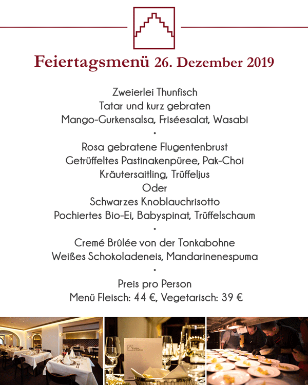 Adventsmenue 2019